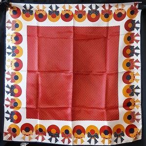 1960's Baar & Beards Sunbonnet scarf